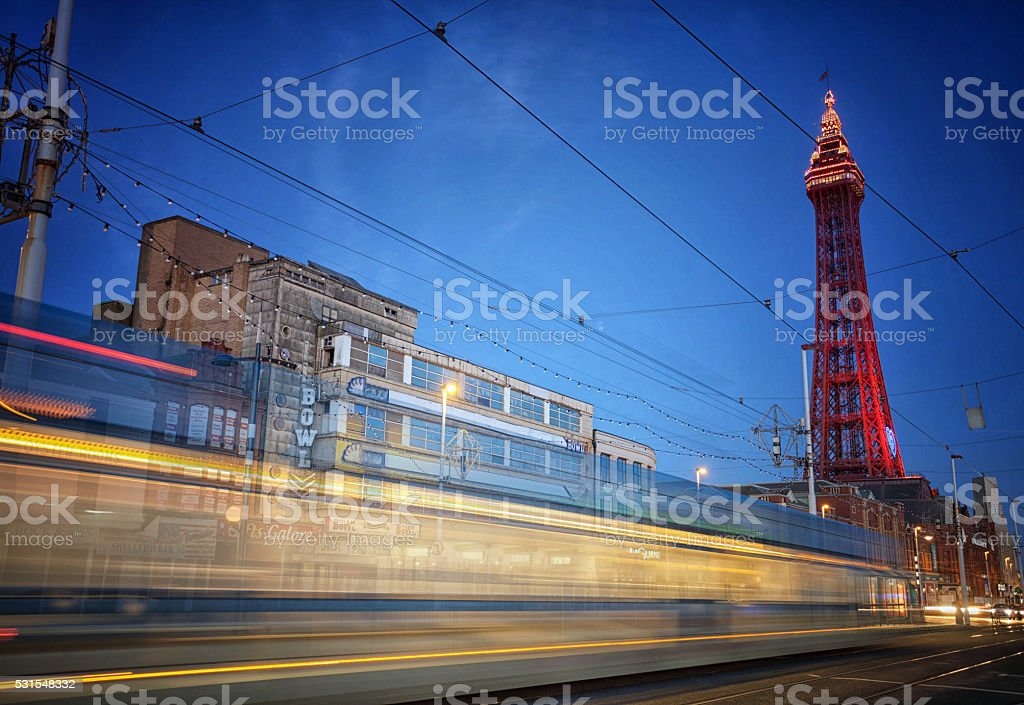 Tram Trail Promenade. stock photo