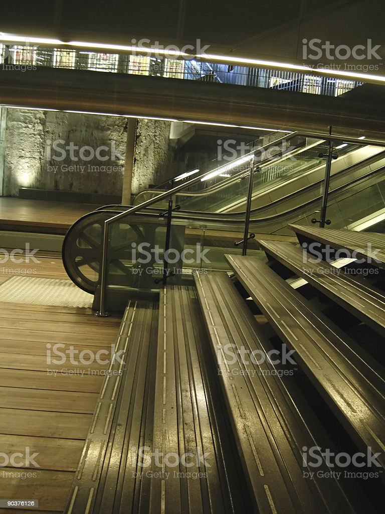 tram tunnel royalty-free stock photo