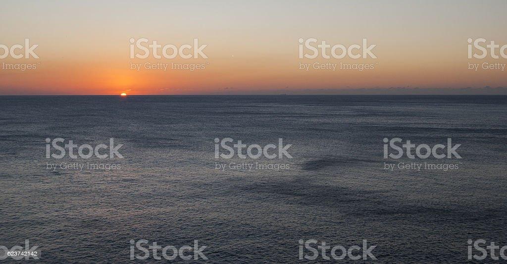 Tramonto a Capo Caccia (Alghero) stock photo