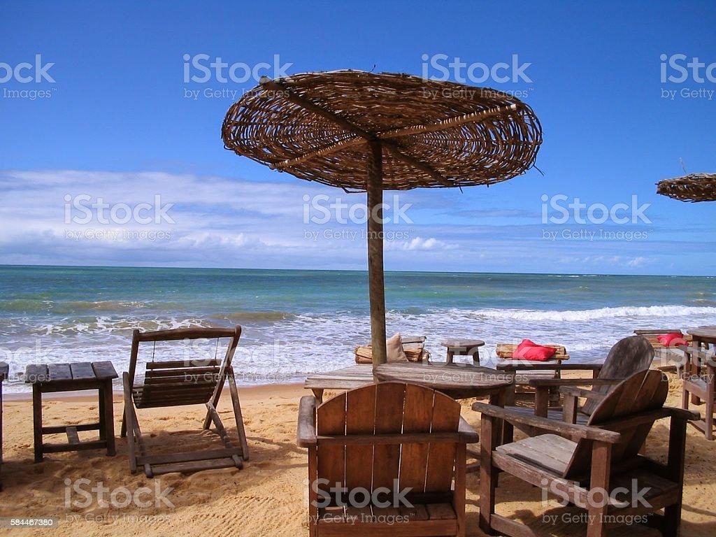 Trancoso Beach, Bahia, Brazil, South America stock photo