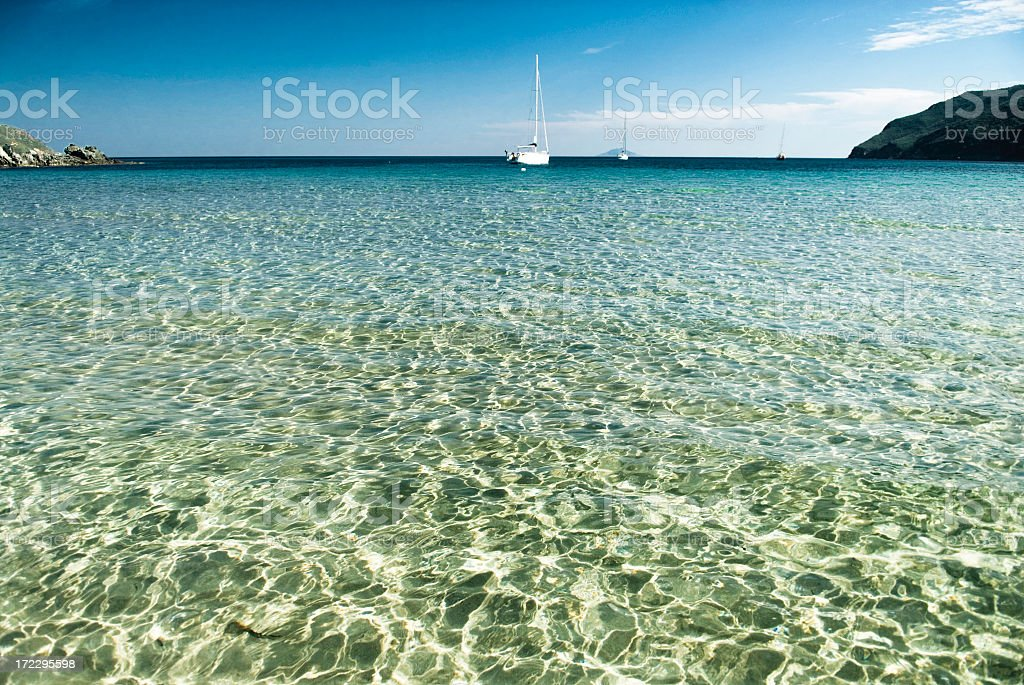 Tranquil Bay royalty-free stock photo