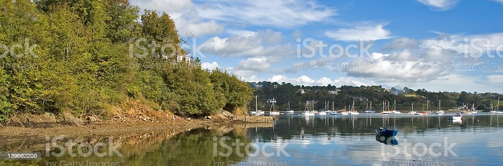 Tranquil Cove royalty-free stock photo