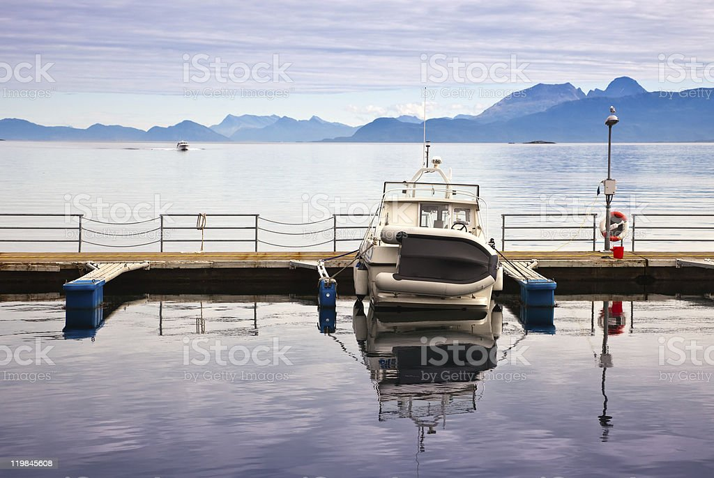 tranquil gulf royalty-free stock photo
