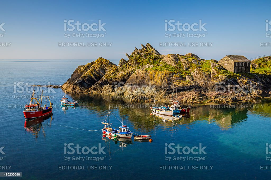 Tranquil Harbour stock photo