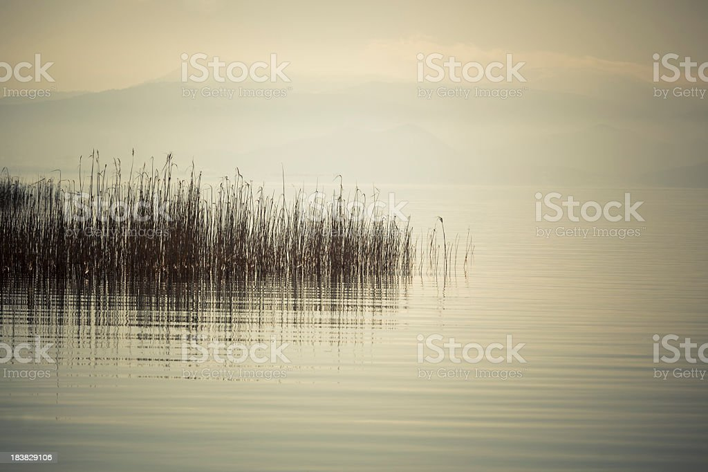 Tranquil lake Beysehir royalty-free stock photo
