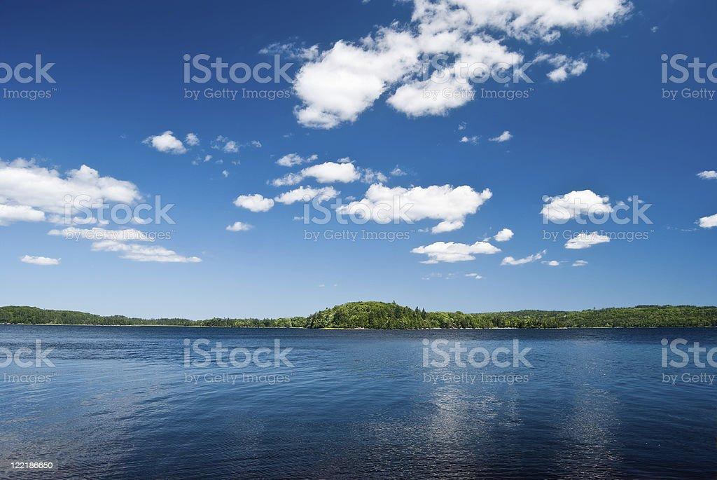 Tranquil Lake royalty-free stock photo