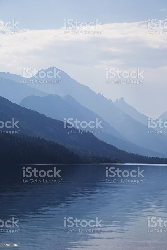 Tranquil Mountain Lake royalty-free stock photo