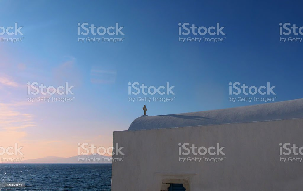 Tranquil Mykonos stock photo