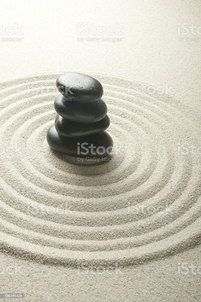 Tranquil Pebbles royalty-free stock photo