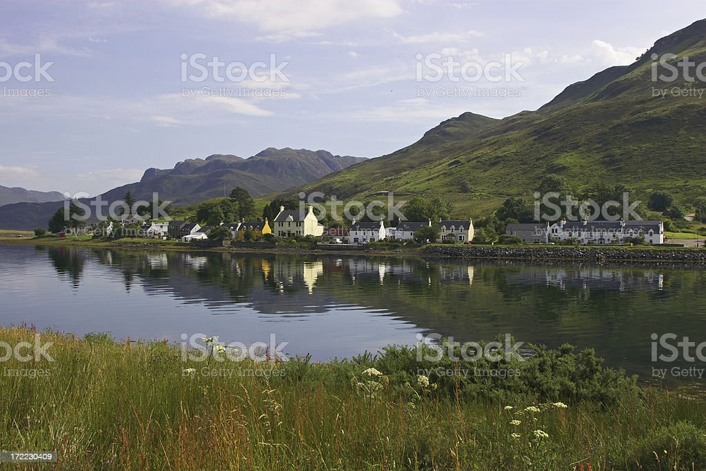 Tranquil Reflections royalty-free stock photo