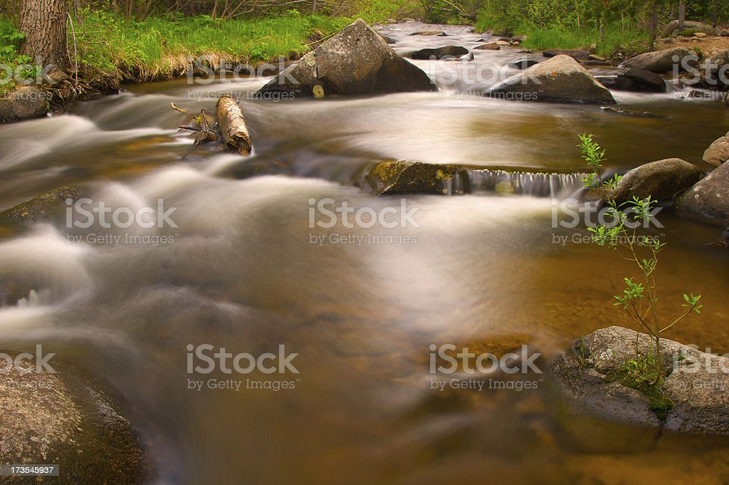 Tranquil River Scene royalty-free stock photo