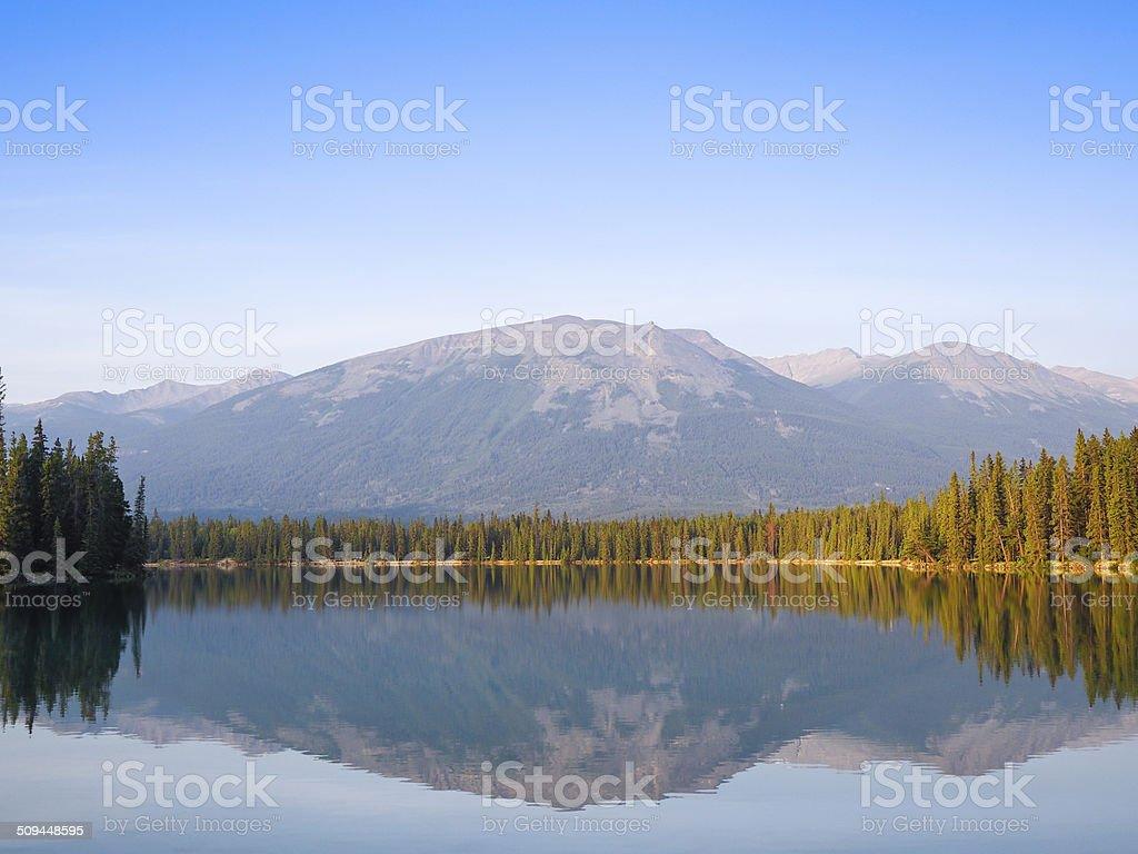 Tranquil Scene of Jasper-Alberta-canada royalty-free stock photo