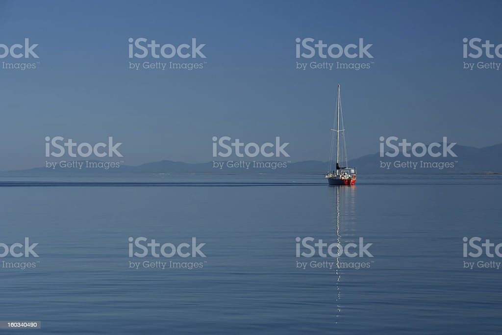 Tranquil Sea royalty-free stock photo