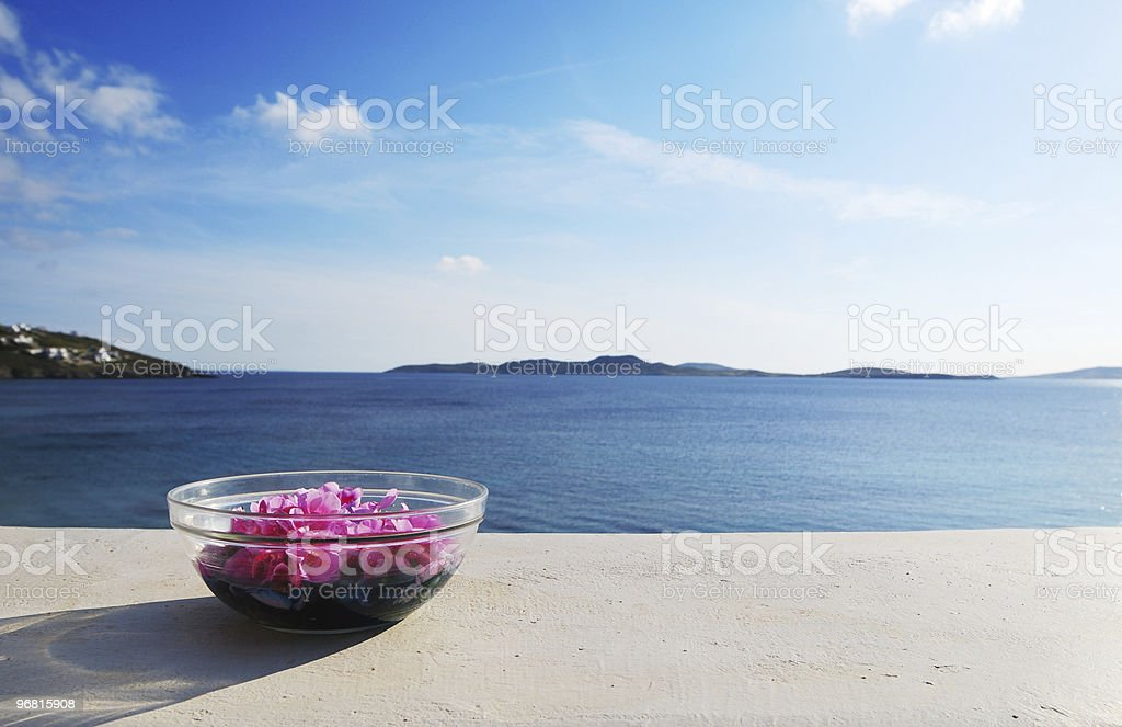 Tranquil Sea stock photo