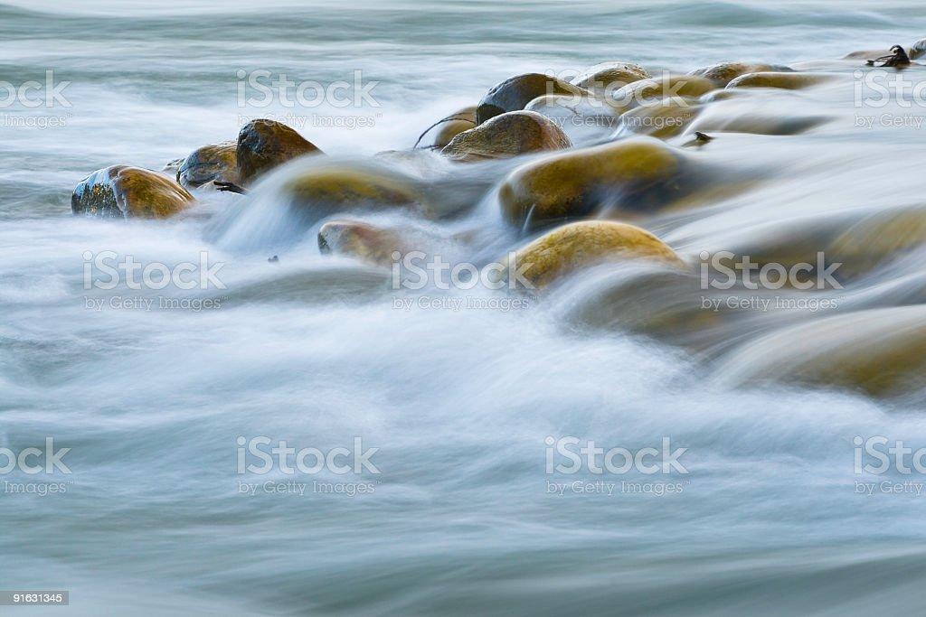 Tranquil Stones stock photo