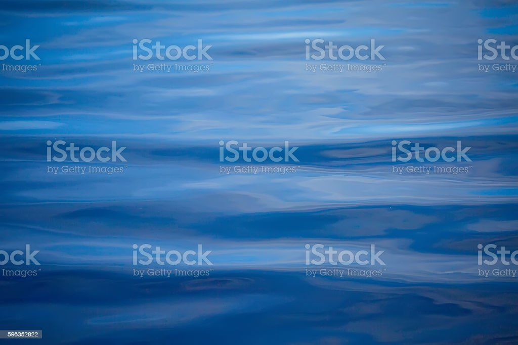 Tranquil water background. Abstraction for a relaxation stock photo