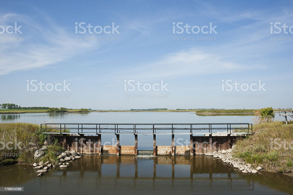 Tranquil Water Scene royalty-free stock photo