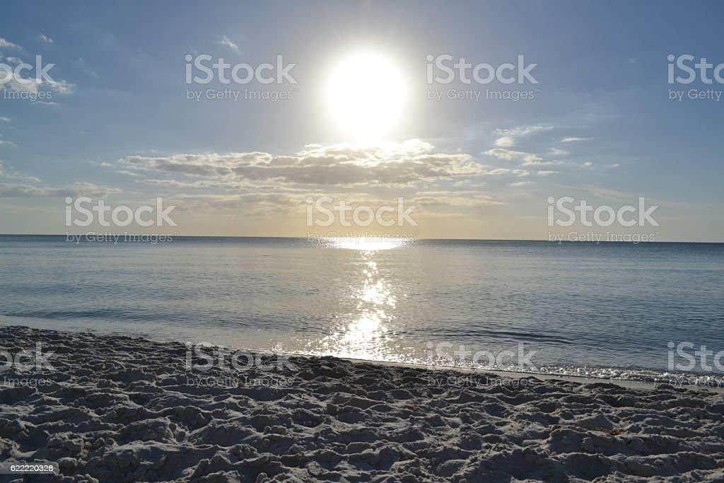 Tranquility in the Gulf stock photo