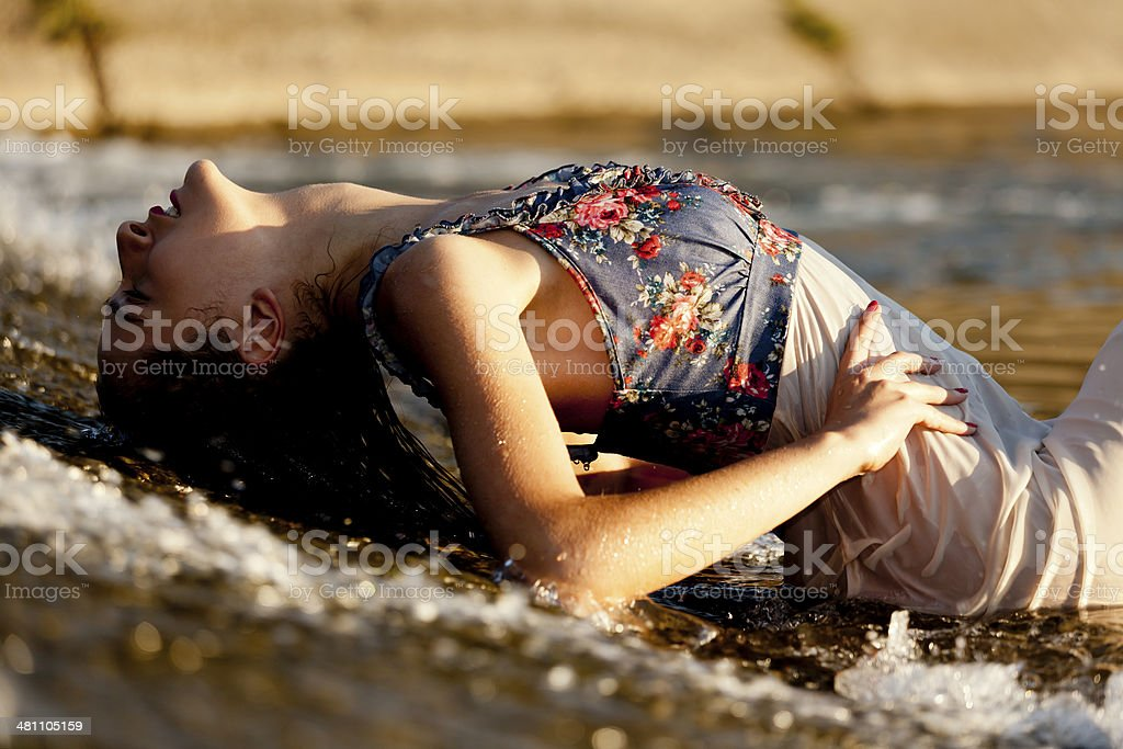 Tranquility Moment stock photo