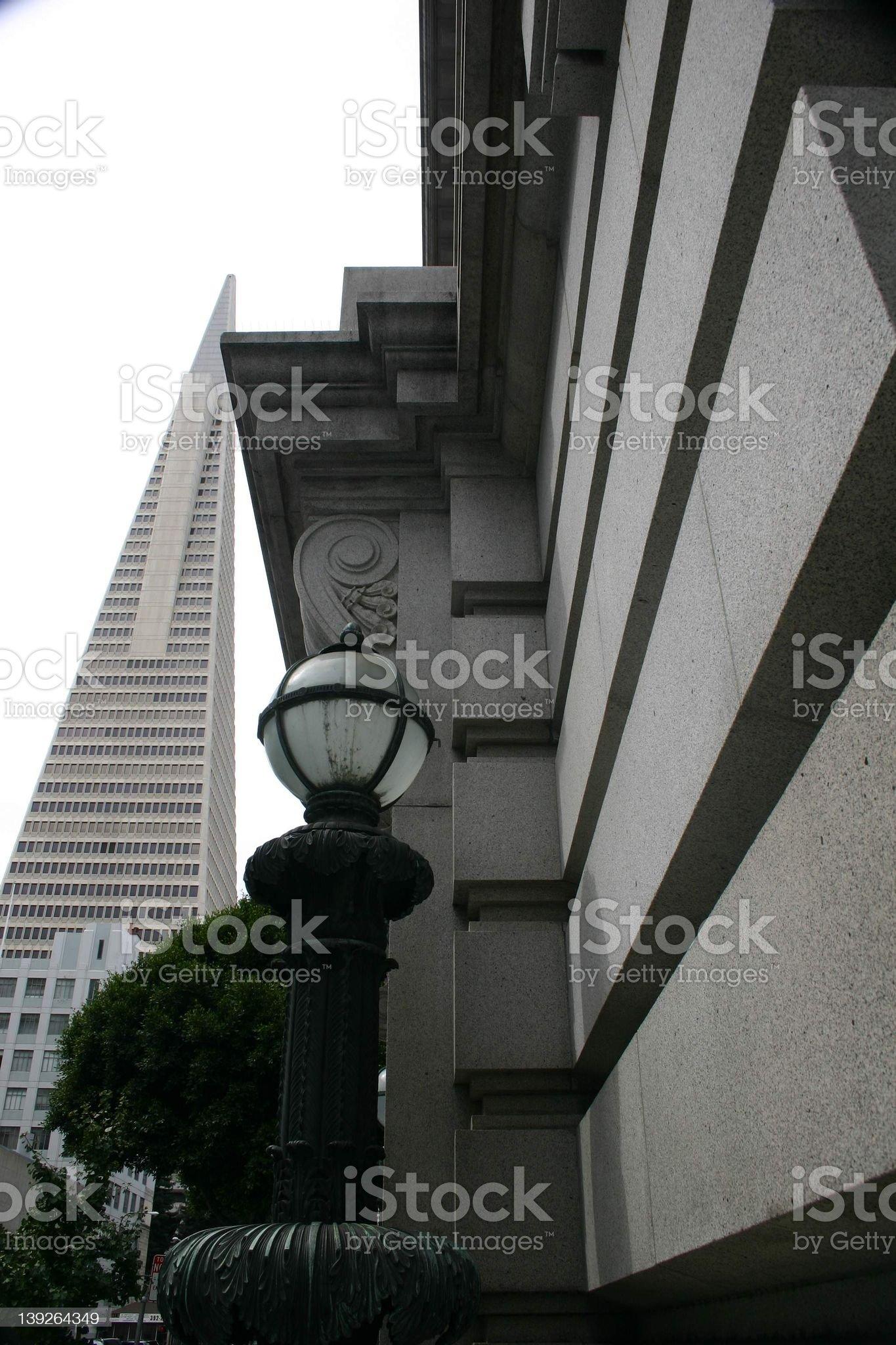 Transamerica Building royalty-free stock photo