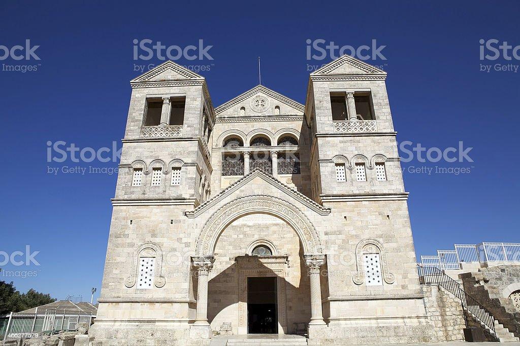 Transfiguration church stock photo