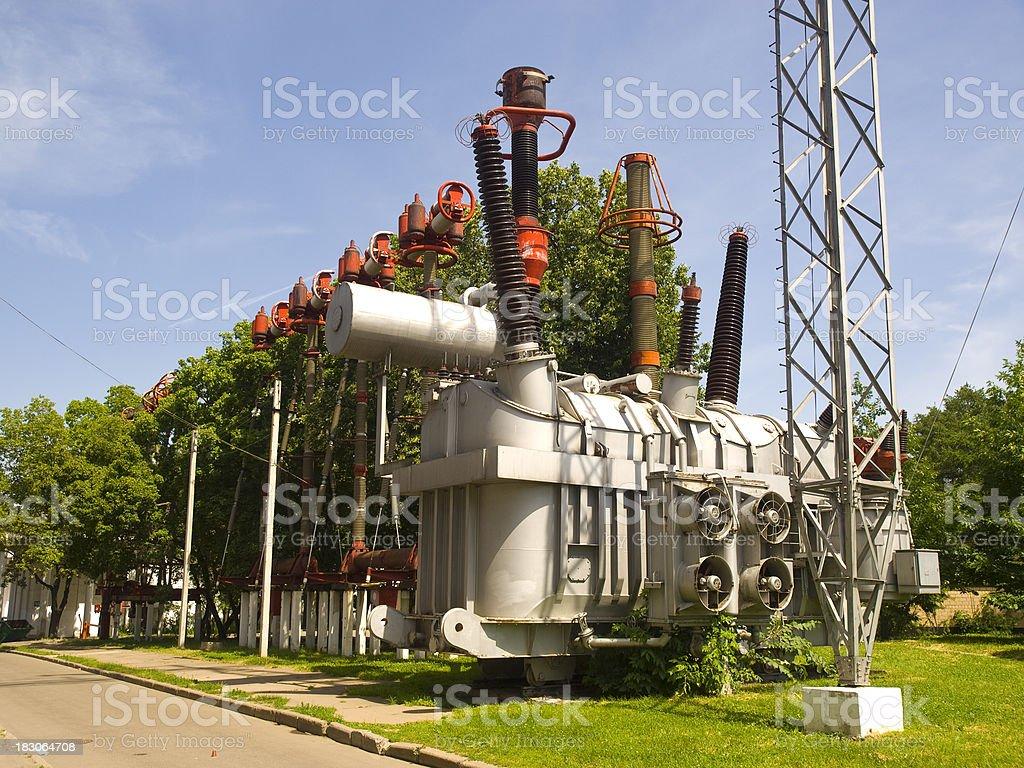 Transformer of VDNK stock photo