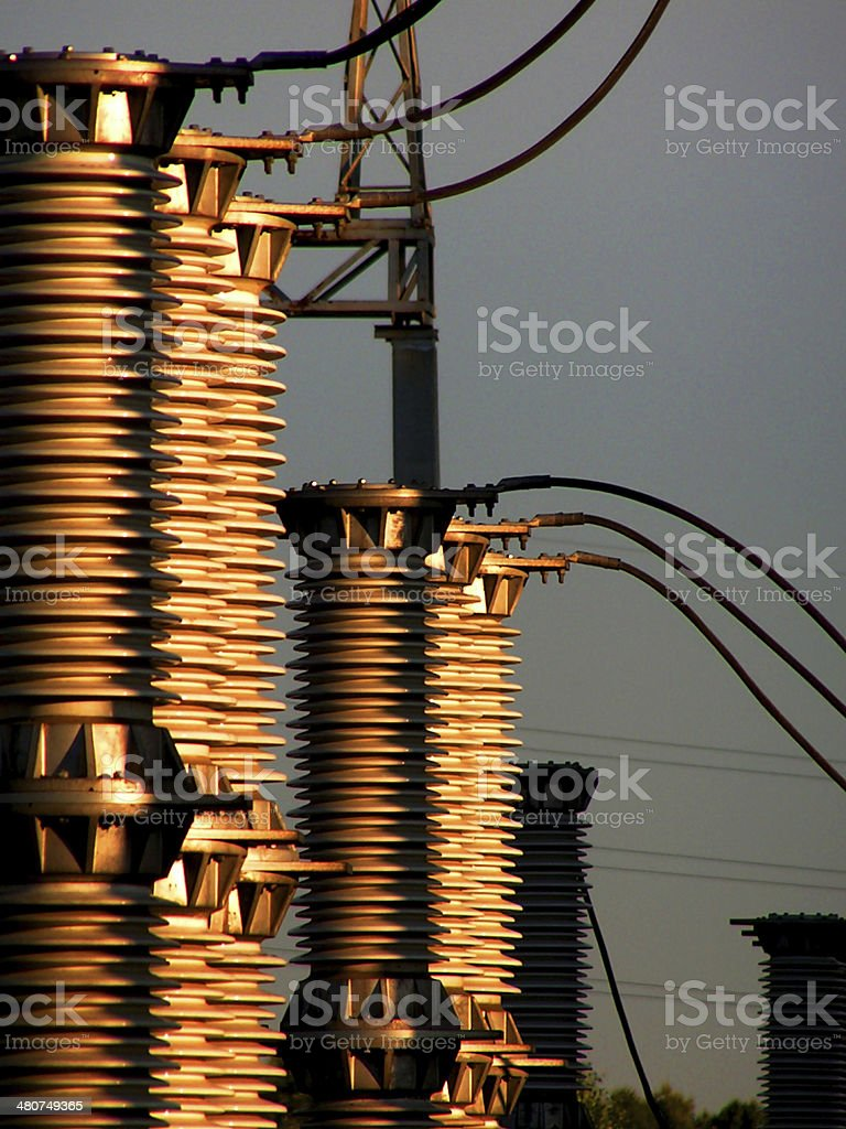 Transformer. stock photo