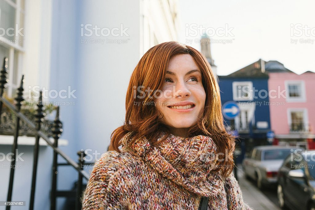 Cheerful Androgynous Man Crossdressed As Woman stock photo