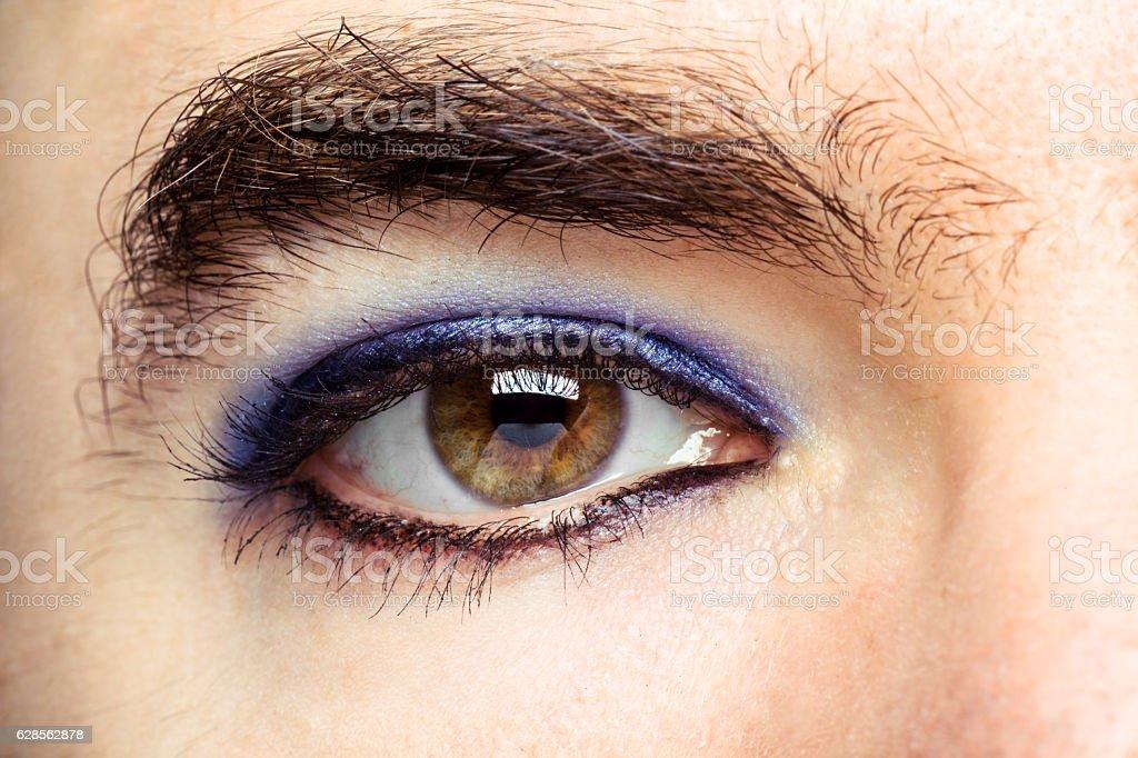Transgender's Eye stock photo