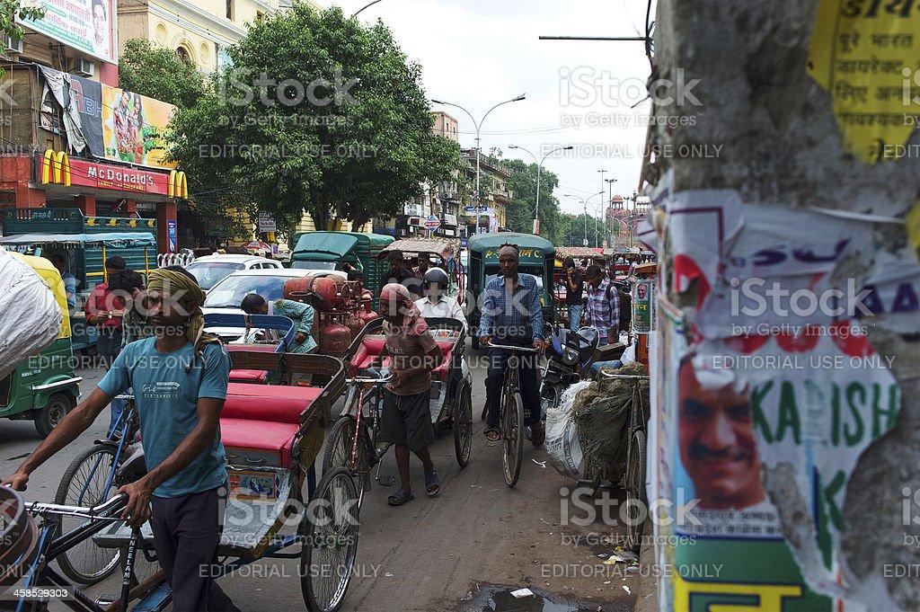 Transit in India royalty-free stock photo