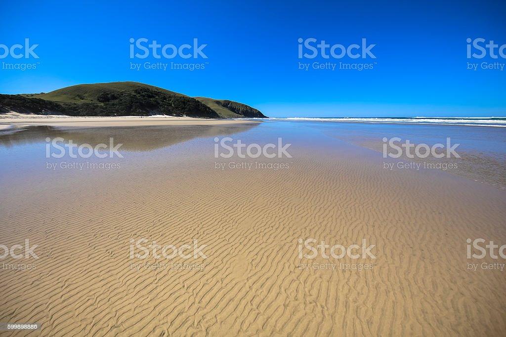 Transkei Beach stock photo