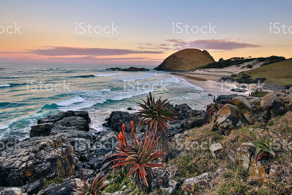 Transkei - Hole in the Wall stock photo