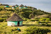 Transkei Rural Huts