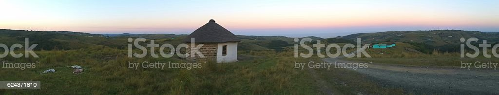 Transkei rural stock photo