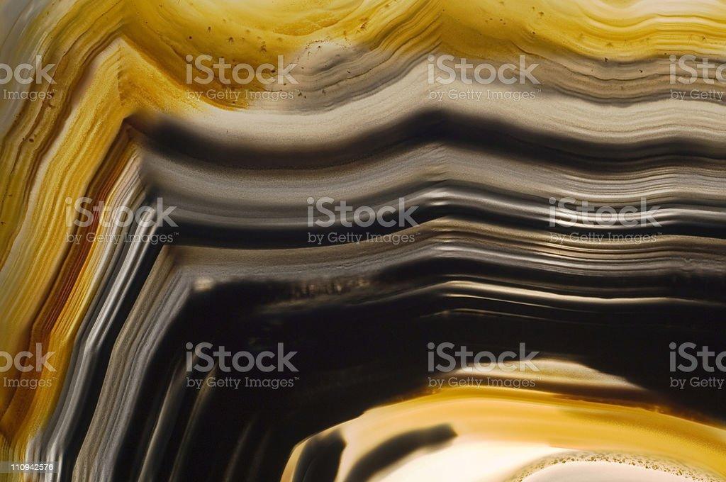 Translucent agate stone stock photo