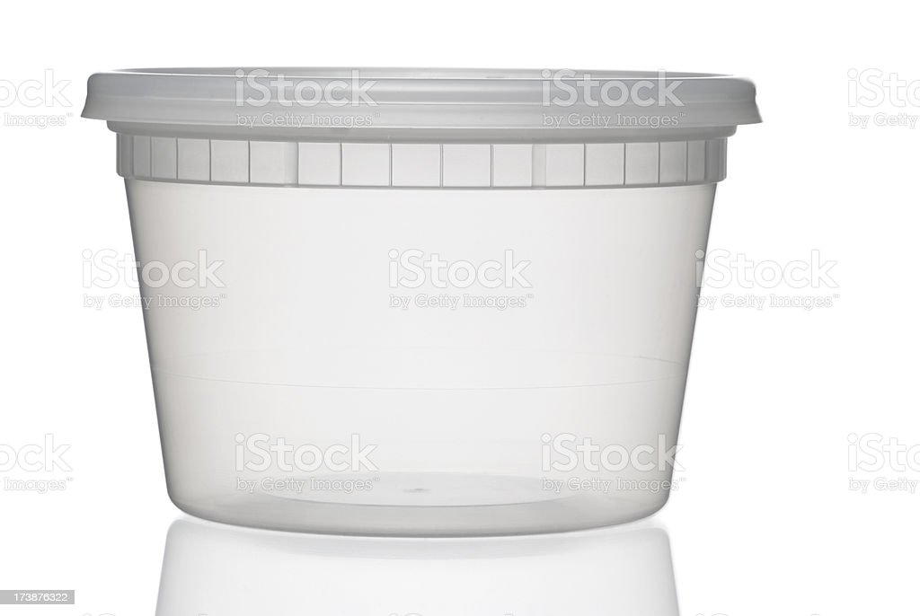 Translucent container royalty-free stock photo