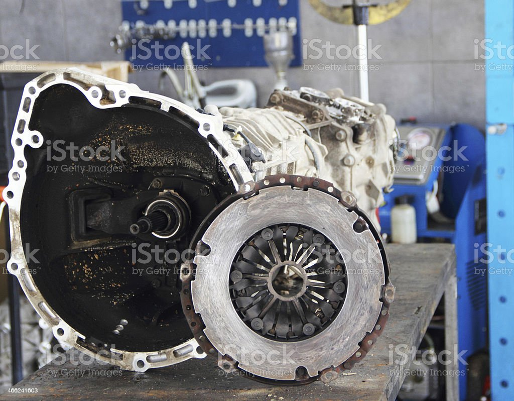 Transmission and clutch stock photo