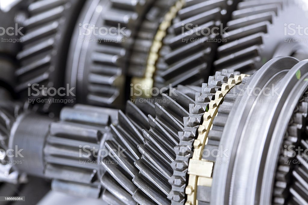 Transmission gears royalty-free stock photo