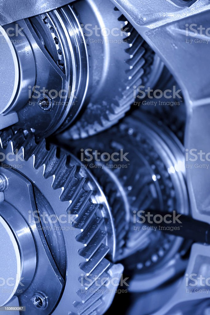 Transmission stock photo