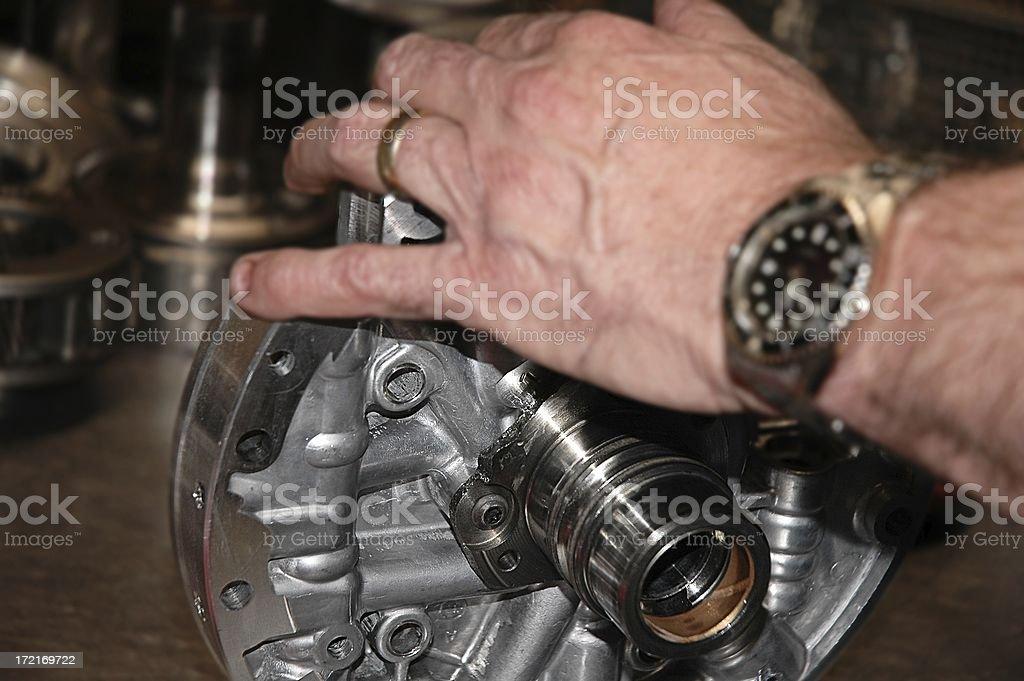 transmission work royalty-free stock photo