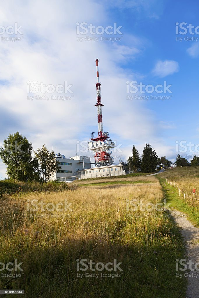 transmitter royalty-free stock photo