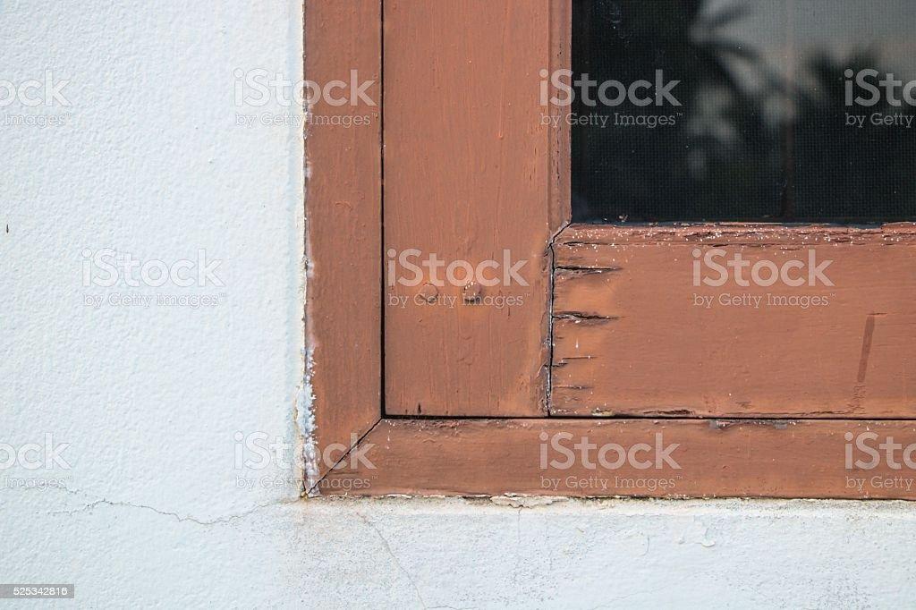 Transom window stock photo