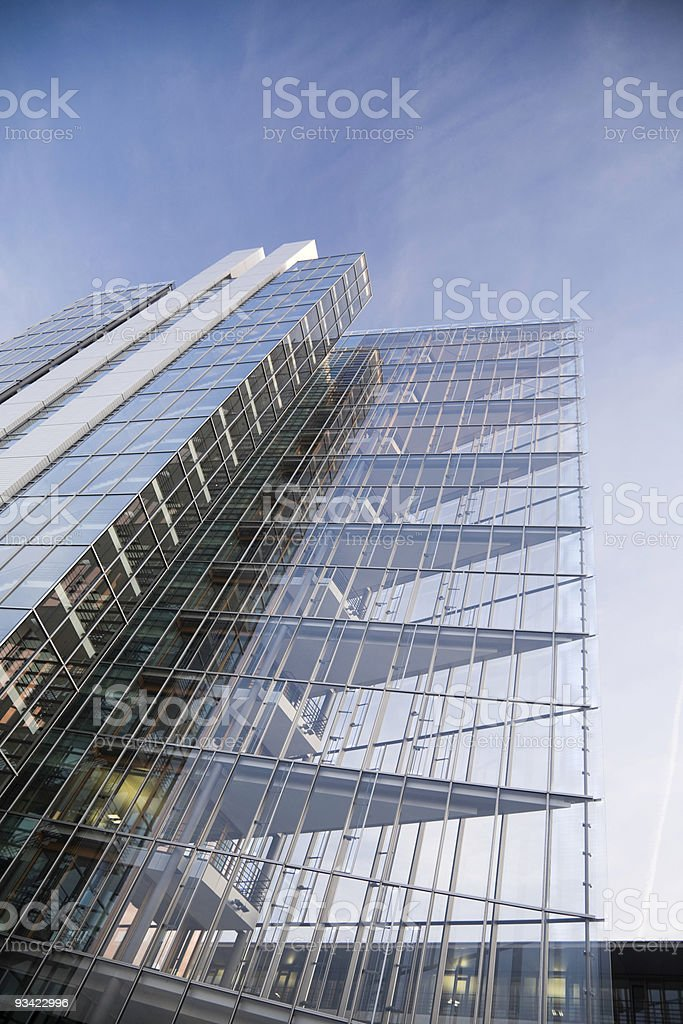 Transparent Architecture royalty-free stock photo