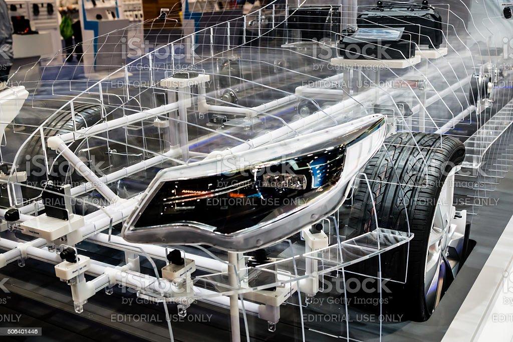 Transparent Automobile stock photo