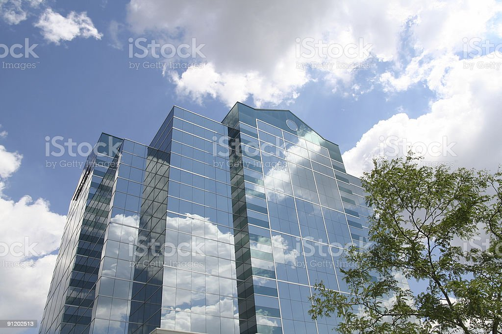 Transparent Corp royalty-free stock photo
