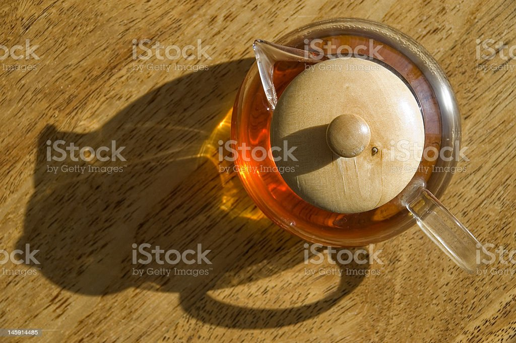 Transparent cup royalty-free stock photo