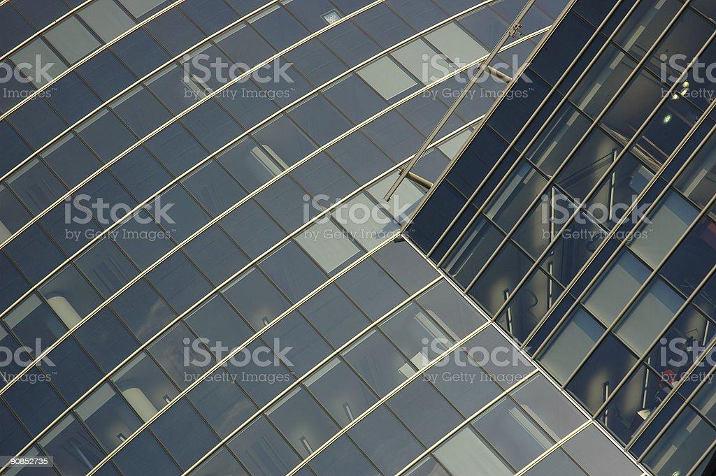 La façade Transparent photo libre de droits