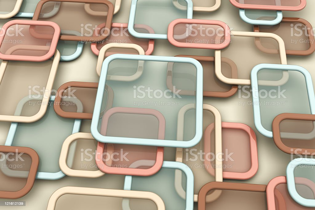 Transparent frames royalty-free stock photo