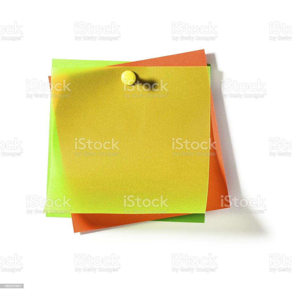 Transparent Notepads stock photo