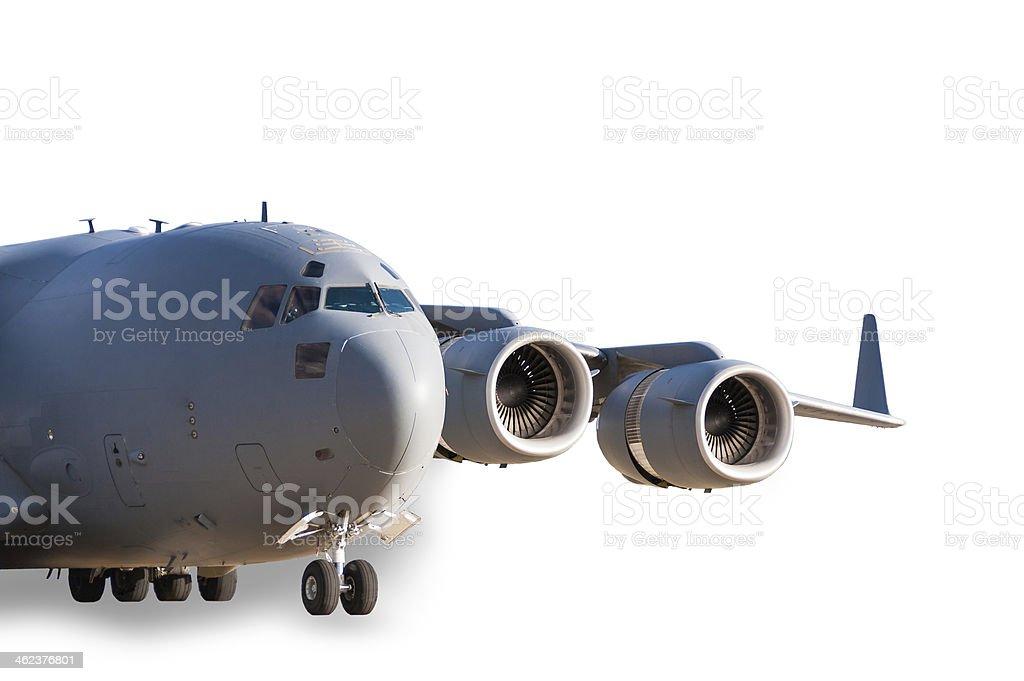 Avião de transporte foto royalty-free